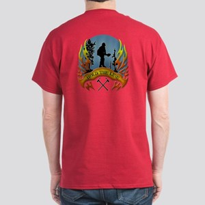 Wildland Firefighter (Hold the Line) Dark T-Shirt