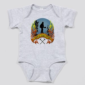 Wildland Firefighter (Hold the Line) Baby Bodysuit