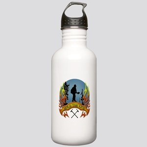 Wildland Firefighter ( Stainless Water Bottle 1.0L