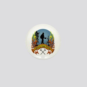 Wildland Firefighter (Hold the Line) Mini Button