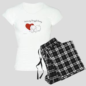 You're my Snuggle Bunny Women's Light Pajamas