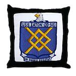 USS EATON Throw Pillow