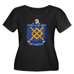 USS EATO Women's Plus Size Scoop Neck Dark T-Shirt