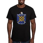 USS EATON Men's Fitted T-Shirt (dark)