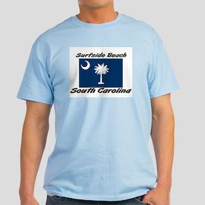 Surfside Beach South Carolina Light T-Shirt