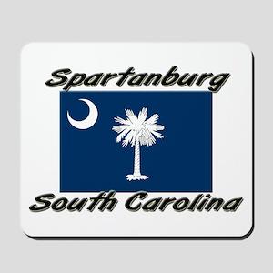 Spartanburg South Carolina Mousepad