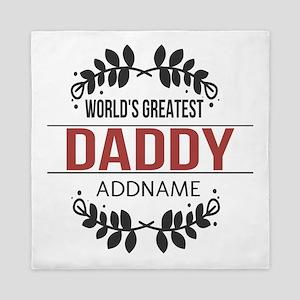 Custom Worlds Greatest Daddy Queen Duvet