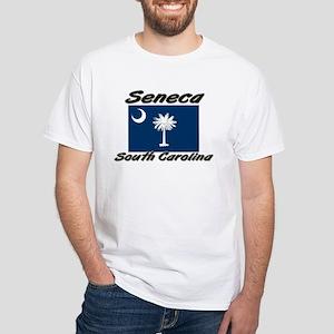 Seneca South Carolina White T-Shirt
