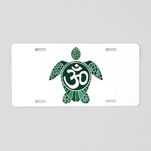 Turtle-EL-01 Aluminum License Plate