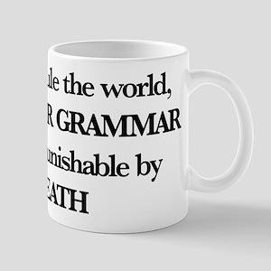 Improper Grammar 11 oz Ceramic Mug