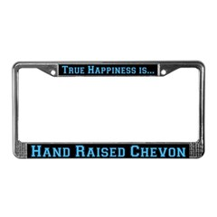 Goat Chevon License Plate Frame
