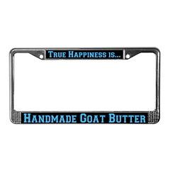 Goat Butter License Plate Frame