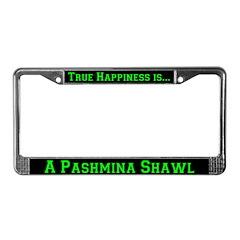 Goat Pashmina License Plate Frame
