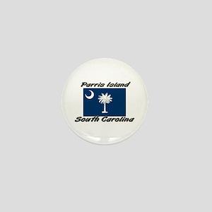 Parris Island South Carolina Mini Button