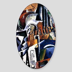 Popova - Italian Still Life Sticker (Oval)