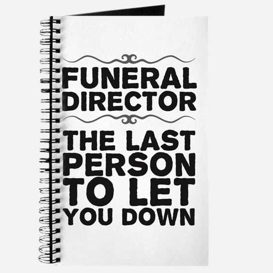 Funny Mortician Journal