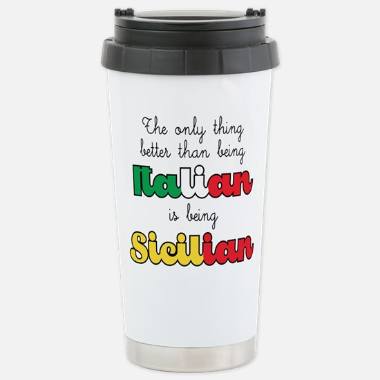 The Only Thing Be Travel Mug
