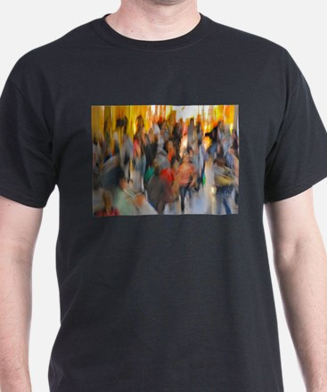 Grand Central: Abstract T-Shirt