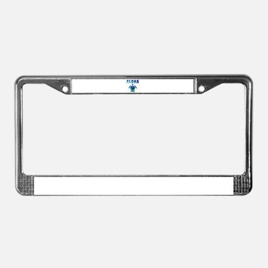 Turtle-AL-07 License Plate Frame