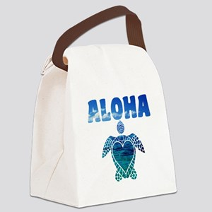 Turtle-AL-07 Canvas Lunch Bag