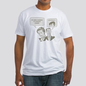Blackmouth Cur Fitted T-Shirt