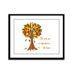Roots Framed Panel Print
