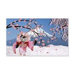 Sakura Geisha Bird Wall Decal