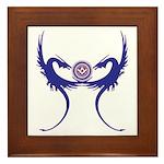 Masonic Blue Dragons Framed Tile