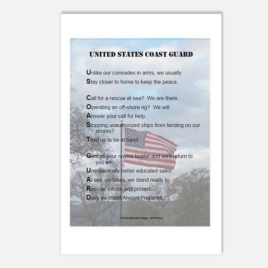 Cute Uscg Postcards (Package of 8)