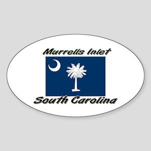 Murrells Inlet South Carolina Oval Sticker