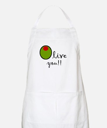 Olive You Apron