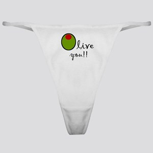Olive You Classic Thong