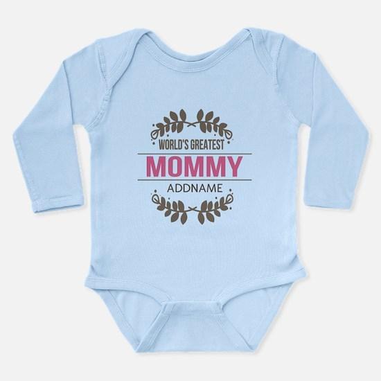 Custom Worlds Greatest Long Sleeve Infant Bodysuit
