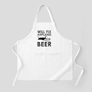 Airplanes Beer Apron