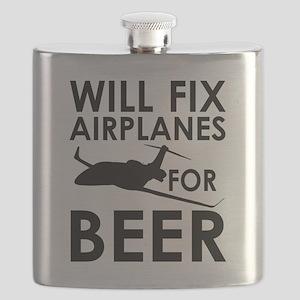 Airplanes Beer Flask