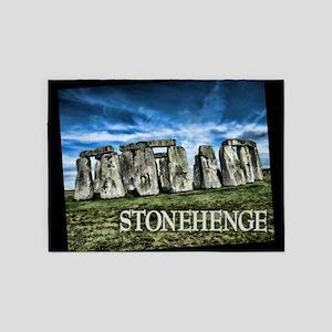 Stonehenge Great Britain 5'x7'Area Rug