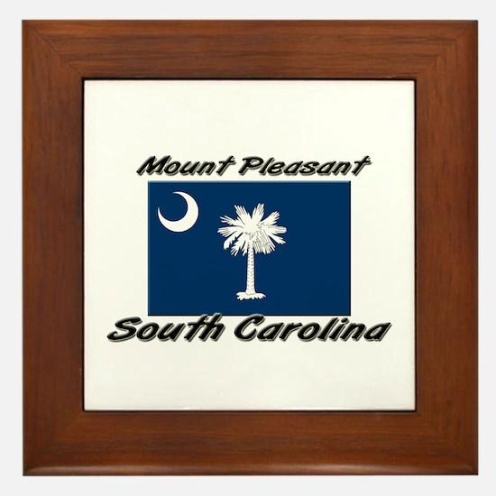 Mount Pleasant South Carolina Framed Tile