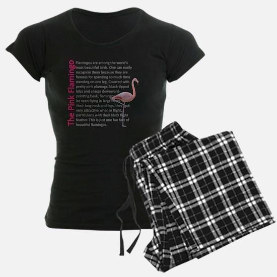 Fun Flamingo Fact Pajamas