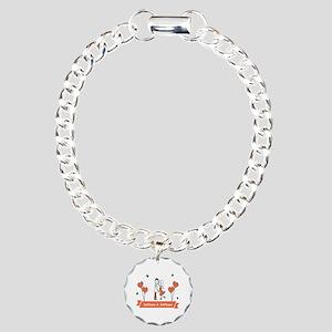 Personalized Names Coupl Charm Bracelet, One Charm