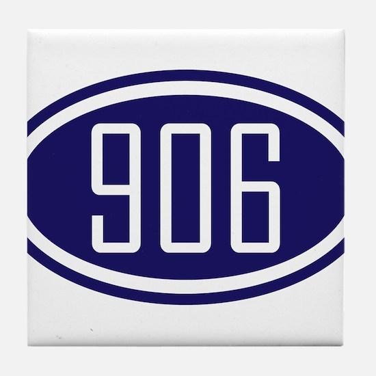 906 Yooper Gear Tile Coaster