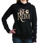 Be Reiki Pawprint Women's Hooded Sweatshirt