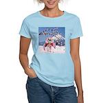 Sakura Geisha Bird T-Shirt