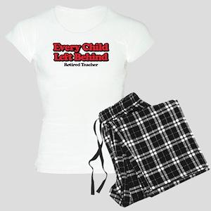 Every Child Left Behind: Re Women's Light Pajamas