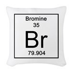 35. Bromine Woven Throw Pillow