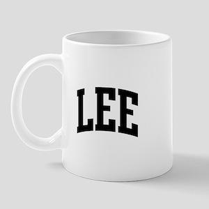 LEE (curve-black) Mug