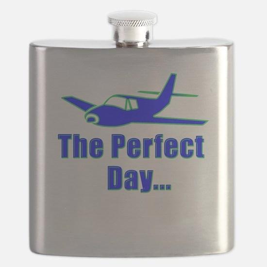 Original Airplane Design Flask