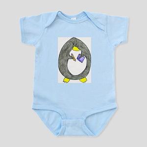Studious Penguin Infant Creeper