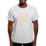 Be Reiki Pawprint Men's Light T-Shirt