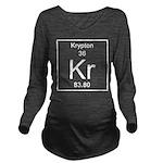 36. Krypton Long Sleeve Maternity T-Shirt