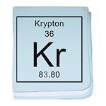36. Krypton baby blanket
